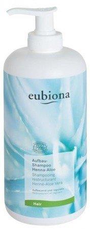 Eubiona Szampon odbudowujący z henną i aloesem 500 ml