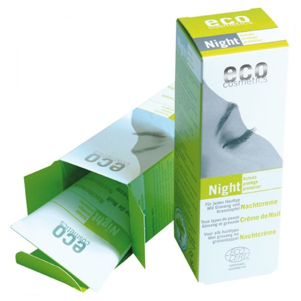 Eco Cosmetics Night - krem odżywczy do twarzy na noc 50 ml