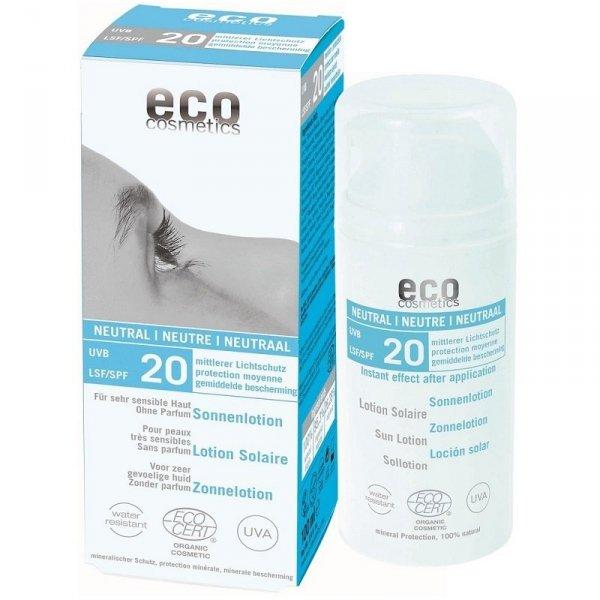 Emulsja na słońce SPF 20 NEUTRAL 100 ml