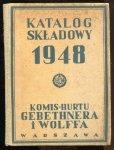 Gebethner i Wolff. Katalog składowy 1948