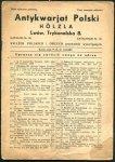 Antykwariat Polski Holzla - katalog nr 66