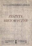 Zeszyty Historyczne. Z. 91.