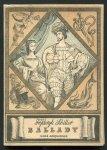 Schiller Fryderyk - Ballady. Wybór w przekładach K.Brodzińskiego, W.Chłędowskiego, J.N. Kamińskiego, A.Mickiewicza. [Ilustrował Jerzy Skarżyński]. 1954.