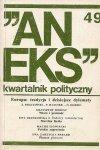 Aneks - kwartalnik polityczny. Nr 49.