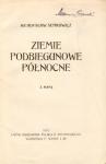 Semkowicz Władysław - Ziemie podbiegunowe północne. Z mapą