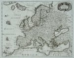 [EUROPA]. Evropa Noua Delineatio. Miedzioryt [ca 1640].