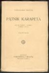Goetel Ferdynand - Pątnik Karapeta. Wyd.II.