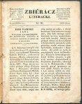Zbieracz Literacki. [R.2], nr 31: 26 I 1838.