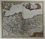 de Witt Friedrich - [POMORZE]. Marchionatus Brandenburgi et Ducatus Pomeraniae Tabula Quae est pars Septentrionalis Circuli Saxoniae Superioris