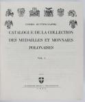 Hutten-Czapski Emeric - Catalogue de la collection des medailles et monnaies polonaises. T. 1-5.