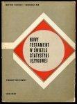 Poniatowski Zygmunt - Nowy Testament w świetle statystyki językowej