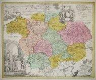 [NIEMCY]. Germania Benedictina qvae in illa sunt Monasteria Ord. S. Benedicti monstrans. exacte ita delineata [...].
