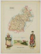 Bazewicz J. M. - Powiat sieradzki guberni kaliskiej - mapa 1907.