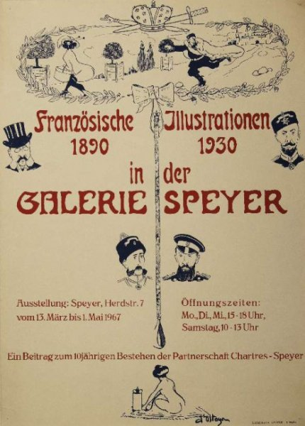 Soszyński Jerzy - Franzozische Illustrationen 1890- 1930 in der Galeria Speyer