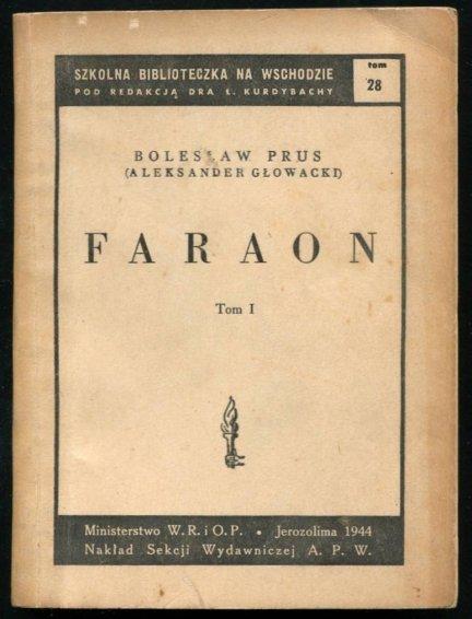 Prus Bolesław (Głowacki Aleksander) - Faraon. Powieść. T. 1-2.