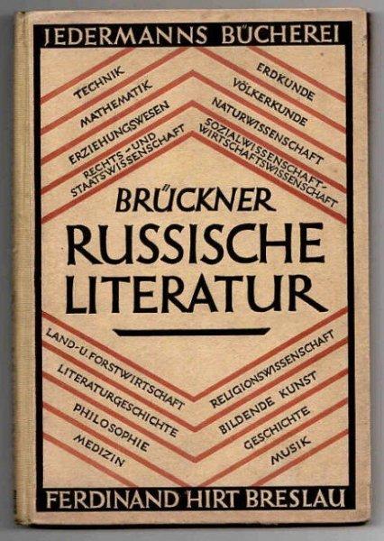 Bruckner Aleksander - Russische Literatur