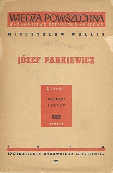 Wallis Mieczysław - Józef Pankiewicz.
