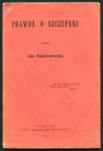 Kwietniewski Jan - Prawda o Szczupaku