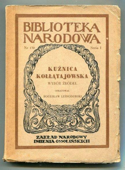 Kuźnica Kołłątajowska.