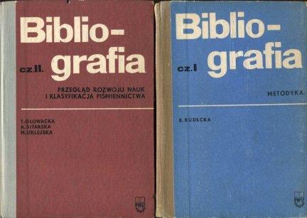 Bibliografia. Cz. 1-2