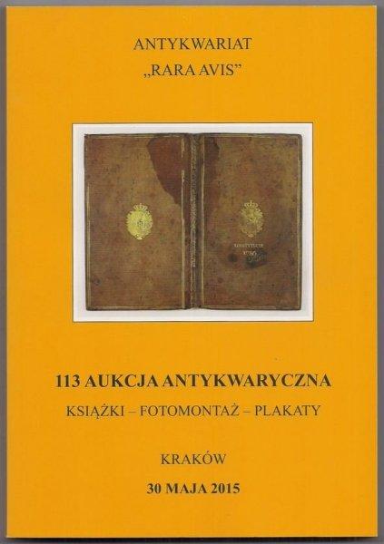 KATALOG AUKCYJNY - AK113