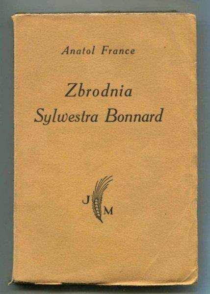 France Anatol - Zbrodnia Sylwestra Bonnard.
