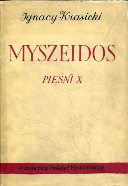 Krasicki Ignacy - Myszeidos. Pieśni X. Ilustrowała Maja Berezowska.