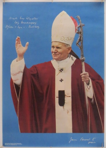 [Jan Paweł II]. Niech Was błogosławi Duch Wszechmogący [...]
