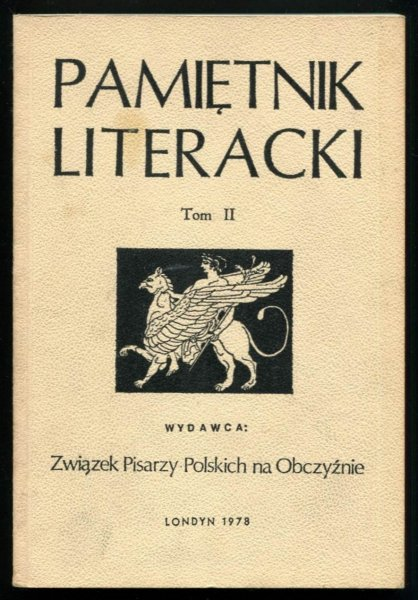 Pamiętnik Literacki. T. 2.