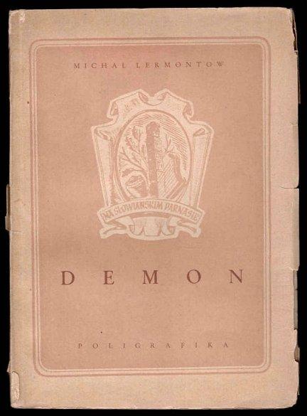 Lermontow Michał - Demon. Powieść wschodnia.