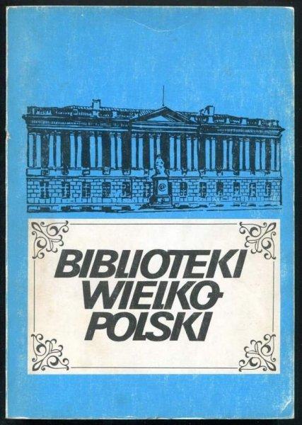 Biblioteki Wielkopolski.