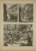 POLEN. Polnische Volksgebräuche: Das Topffschlagen während der großen Fastenzeit. 1883. Drzeworyt sztorcowy form. 16,3x22,3 na ark. 38x27,5 cm; tekst na odwrocie.