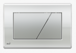 Przycisk chrom-połysk/mat M173