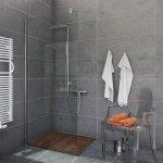 Ścianka prysznicowa narożna Easy In 90-120 szkło transparentne