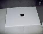 Brodzik prostokątny Nox Ultraslim biały 110x90