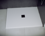 Brodzik prostokątny Nox Ultraslim biały 100x90