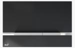 Szklany przycisk STRIPE-GL1204 czarny