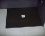 Brodzik prostokątny Nox Ultraslim czarny 120x80