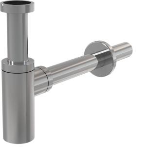 Syfon umywalkowy Ø32 DESIGN metalowy A400