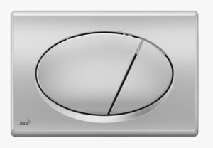 Przycisk chrom-mat M72