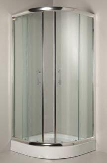 Kabina Sigma 90 chrom szkło transparentne