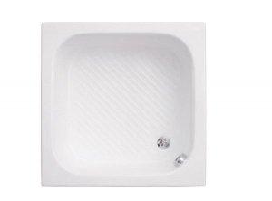 Brodzik kwadratowy Kobe 1 80x80x26 bez siedziska