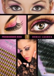 Plakat Noblelashes A3, model 3