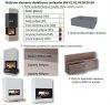 brunner bsk 02 eck zestaw z wk adem prawy drzwi unoszone brunner obudowy kominkowe. Black Bedroom Furniture Sets. Home Design Ideas
