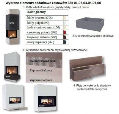brunner bsk 05 zestaw z wk adem brunner obudowy kominkowe sklep internetowy kominki. Black Bedroom Furniture Sets. Home Design Ideas