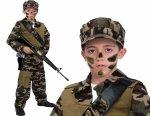Siły Specjalne ŻOŁNIERZ Strój Karnawałowy 104 KOSTIUM