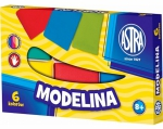 MODELINA 6 kolorów Astra Szkolna PLASTELINA