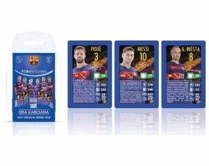 KARTY do Gry Top Trumps FC BARCELONA