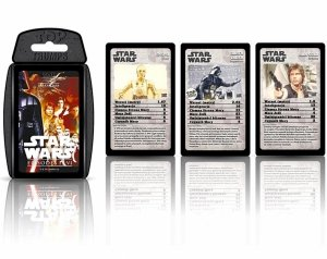 KARTY do Gry Top Trumps STAR WARS Epizod 4-6