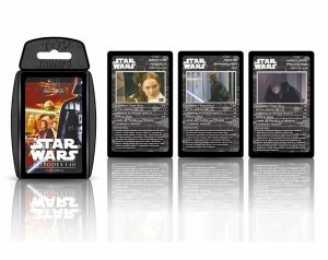 KARTY do Gry Top Trumps STAR WARS Epizod 1-3